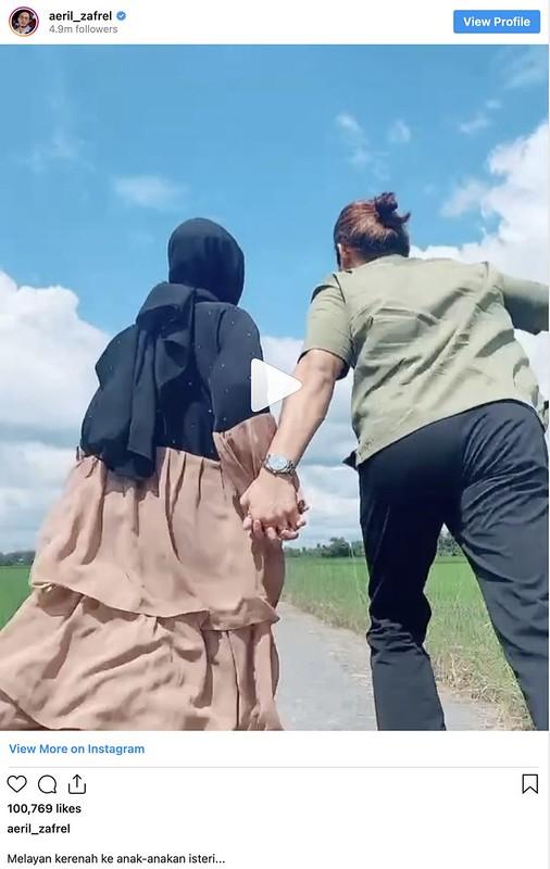 Ramai Teruja Nak Kahwin Lihat Aeril Zafrel Layan Kerenah Keanak-Anakan Isteri