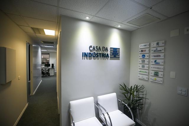Novas Instalações da Casa da Indústria em Curitiba