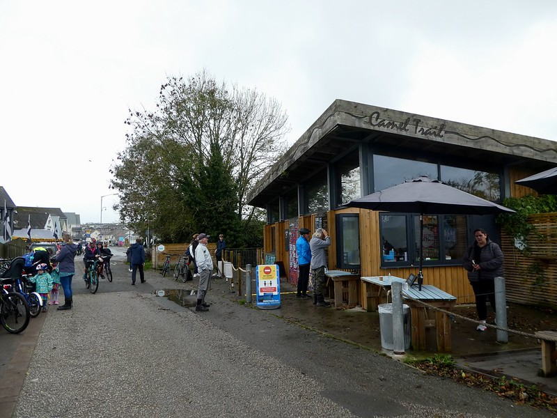 Wadebridge, the hub of The Camel Trail cycle route