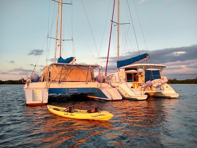 Buddy Boat (sunset)