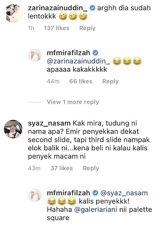 Muak Lihat Mira Filzah Tayang Bahagia, Makcik Ni Kena 'Ceramah' Dengan Netizen