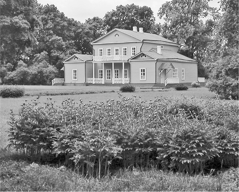 Тарханы. Барский дом. Фото Б. Тишулина