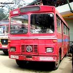 62-2588 Keppetipola  Depot Tata - LP 1210/52 Wesco B type Bus at Nuwaraeliya in 09.09.2012