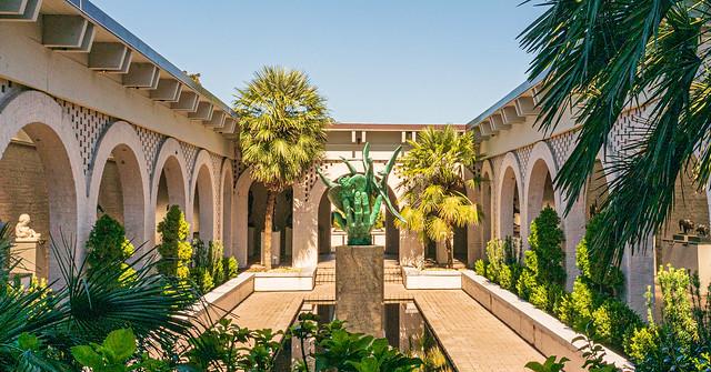 Brown Sculpture Court 2 @ Brookgreen Gardens - Murrells Inlet, SC, USA