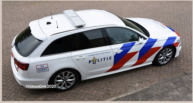 Dutch Traffic Police Audi.