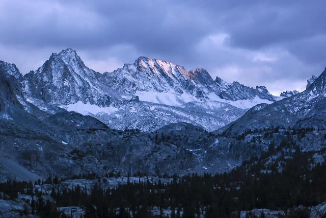 Sunset on Mt Thompson