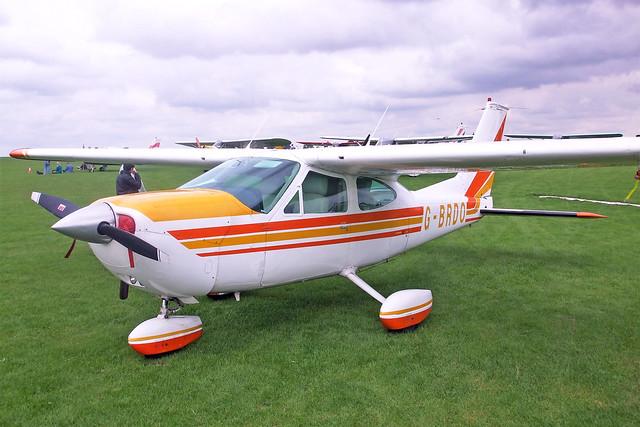 G-BRDO  -  Cessna 177B Cardinal c/n 177-02166  -  EGBK 4/9/10