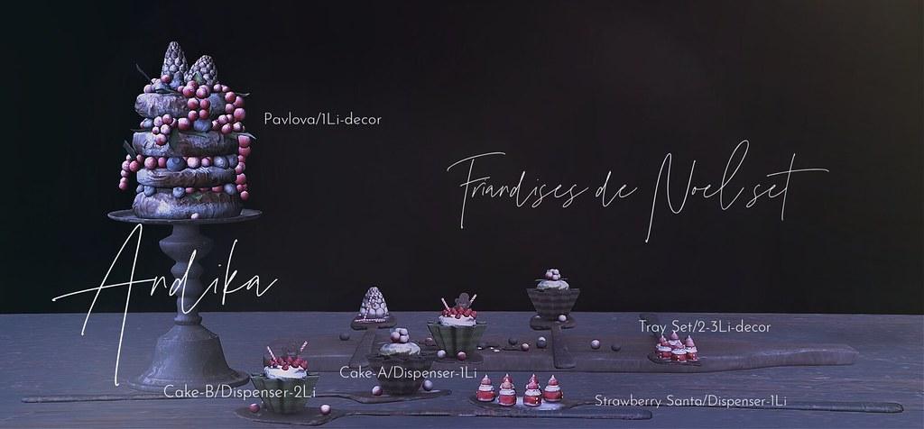 andika[Friandises de Noel]Set at Tannenbaum 2020