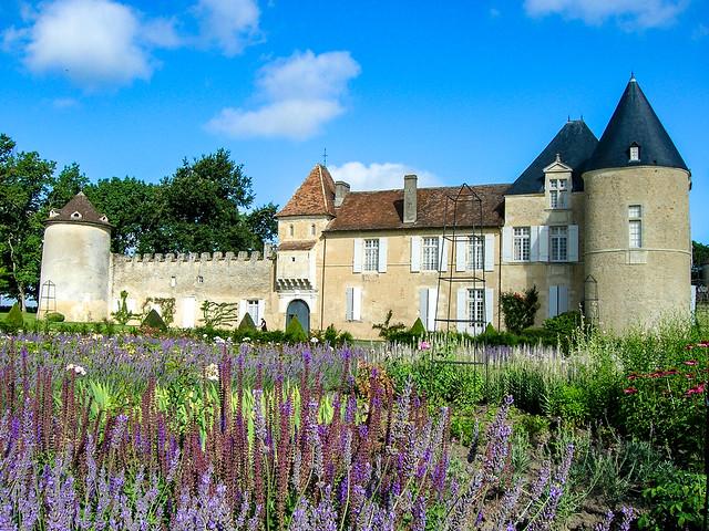 Le château d'Yquem, un domaine viticole dans le vignoble de Bordeaux, région Nouvelle-Aquitaine, France