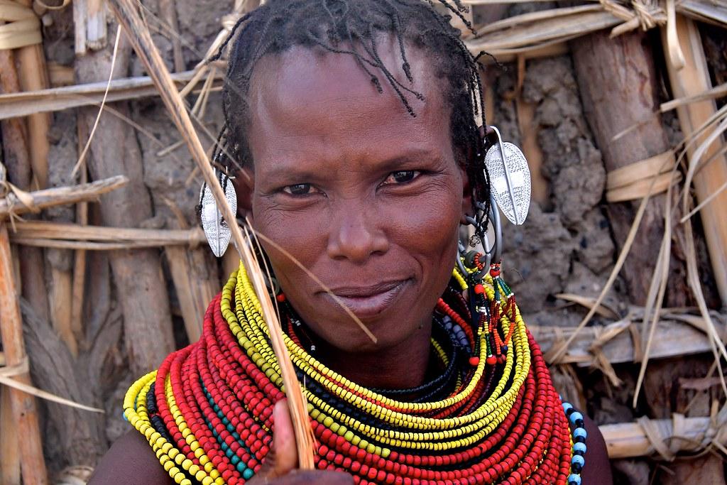 Kenya- Loyengalani- Turkana people
