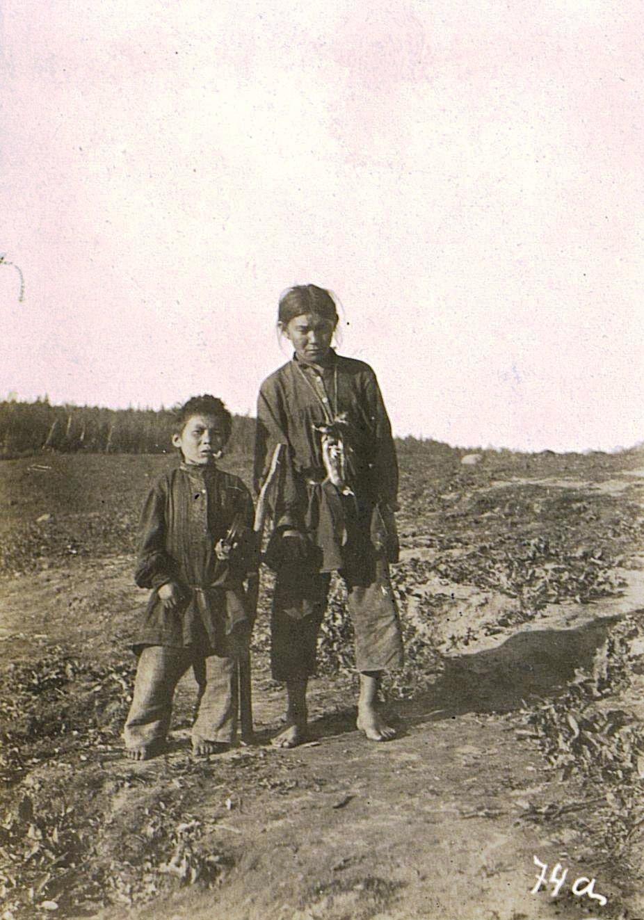 Портрет подростка и мальчика