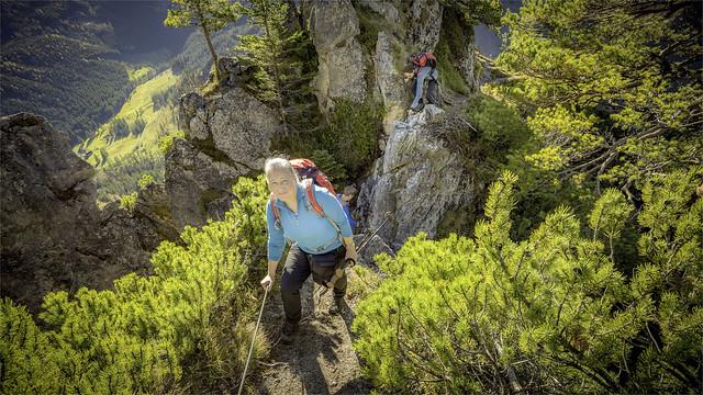 _DSC30178 Ascent to Mt. Kampermauer / Upper-Austria