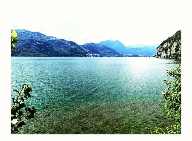 Lake view from Olcio