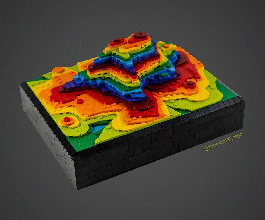 Rainbow Volcano