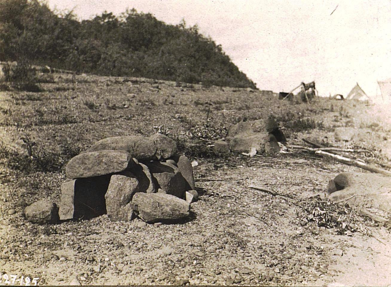 Печи из камня