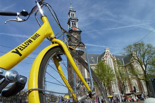 Amsterdam Yellow Bike