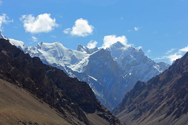 90. View From Near Italian K2 Advance Base Camp, Xinjiang