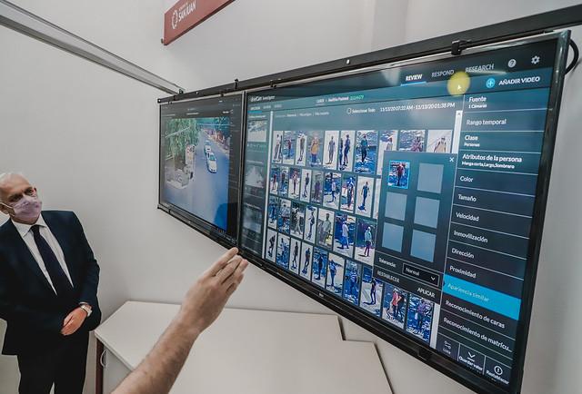 2020-11-19 PRENSA: Inauguración de Cámaras de Seguridad de Avenida de Circunvalación y del Laboratorio de Avanzado de Analítica Forense