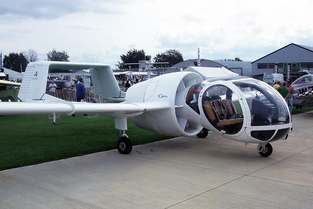 G-BOPO  -  FLA Aerospace OA-7 Optica c/n 021  -  EGBK 4/9/10