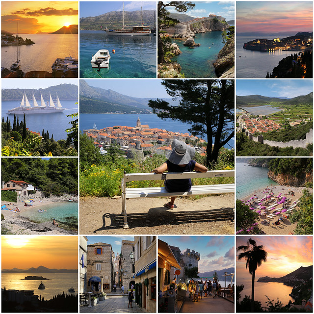 The beautiful Croatia's Dalmatian Coast