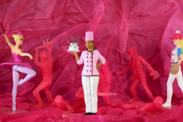 Pink Invasion - Bijou Planks 323/365