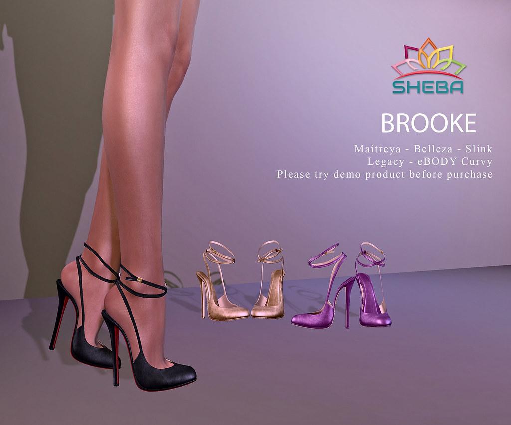 [Sheba] Brooke Heels