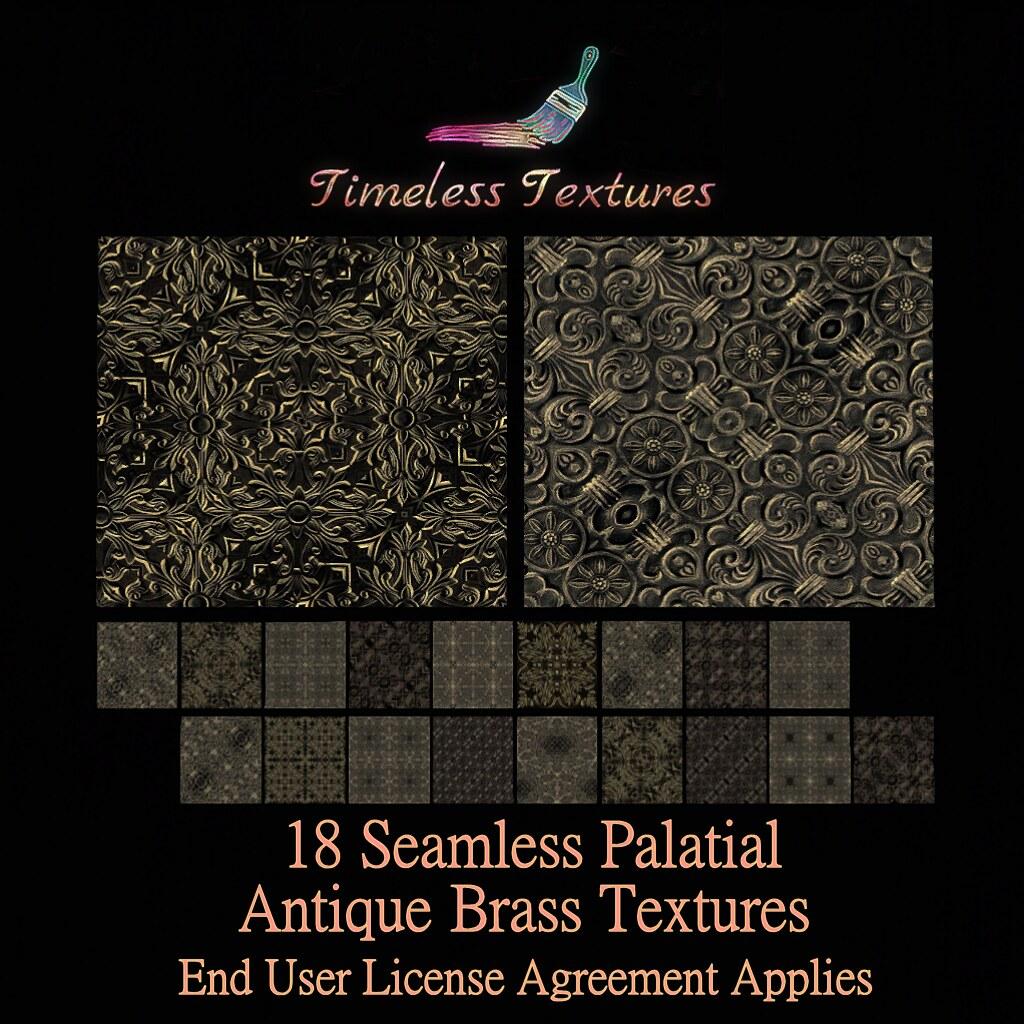 TT 18 Seamless Palatial Antique Brass Timeless Textures