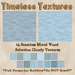 TT 14 Seamless Mixed Wood Selection Cloudy Timeless Textures