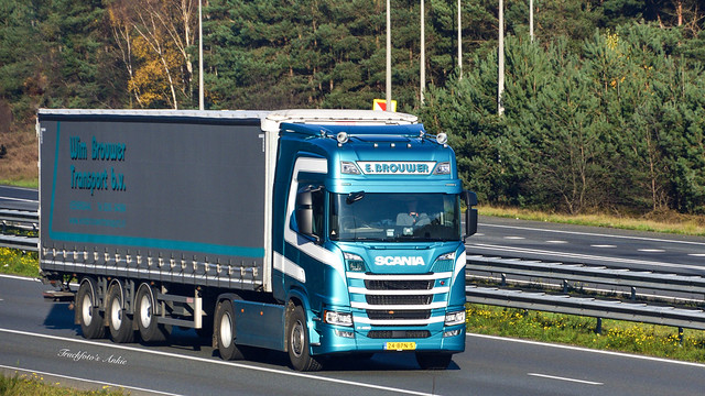 Wim Brouwer Transport BV Veenendaal Scania R450 A50 Hoenderloo