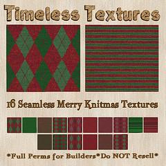 TT 16 Seamless Merry Knitmas Timeless Textures