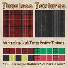 TT 20 Seamless Lush Tartan Festive Timeless Textures
