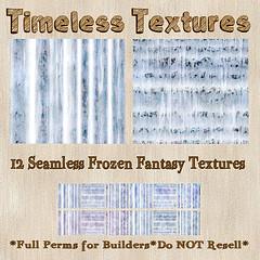 TT 12 Seamless Frozen Fantasy TImeless Textures