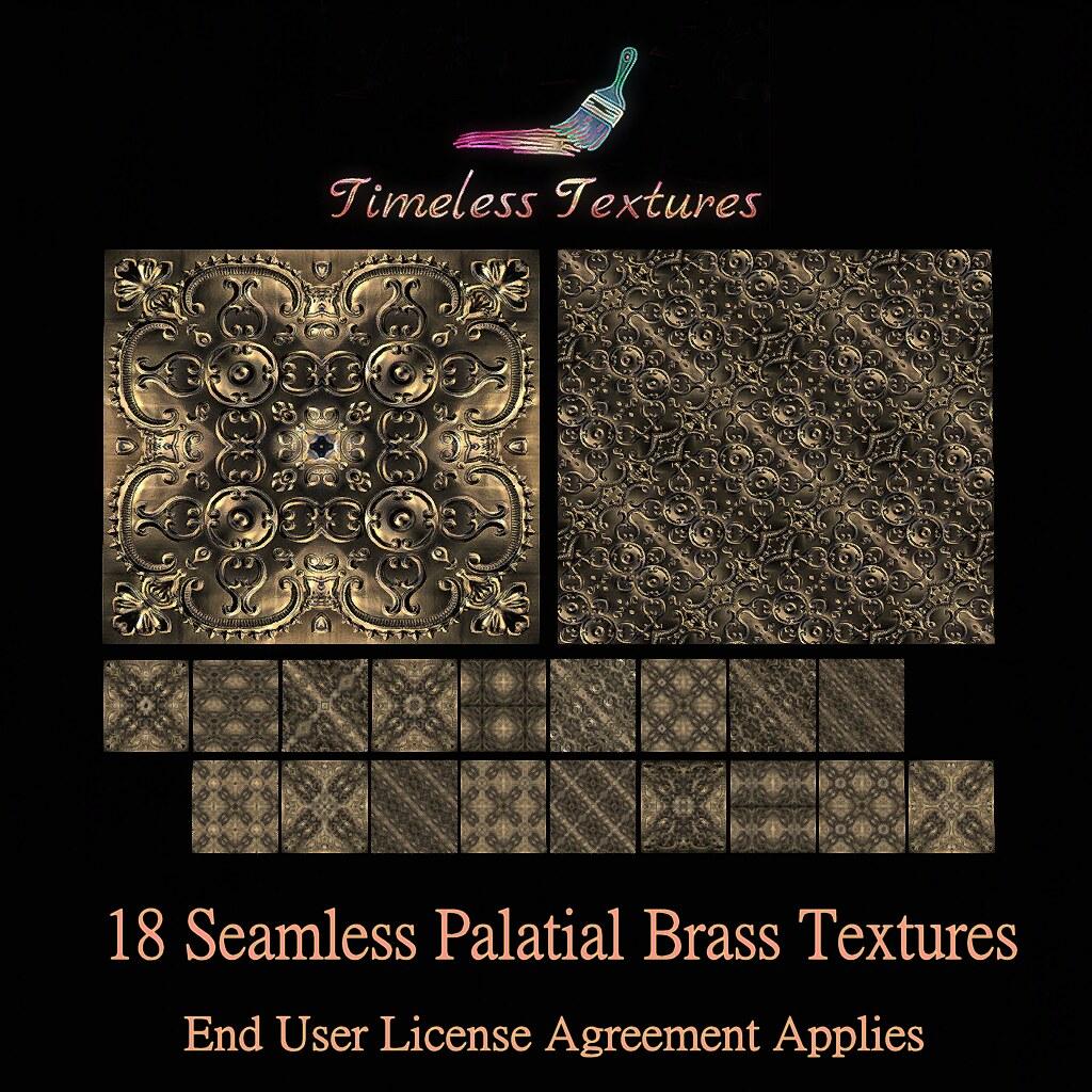 TT 18 Seamless Palatial Brass Timeless Textures