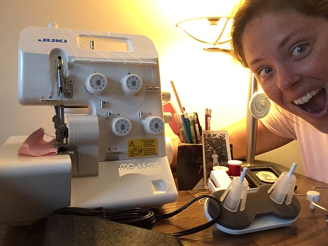 I got a new serger!