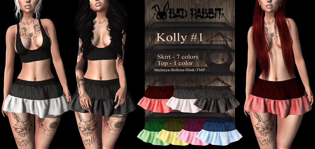 .:Bad Rabbit:. Kolly#1 Skirt, Top