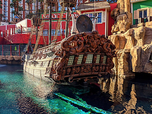 Exploring New Horizons — Señor Frog's Cantina — The British Royal Navy Ship Brittania — Thursday/Day Five — Treasure Island Hotel & Casino — Coronavirus Las Vegas 2020