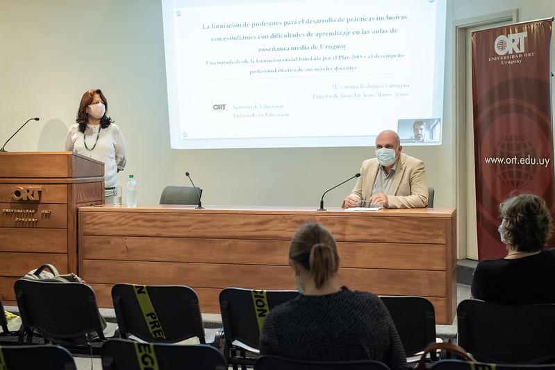 Defensa de tesis doctoral de Cristina Rodríguez - Noviembre 2020