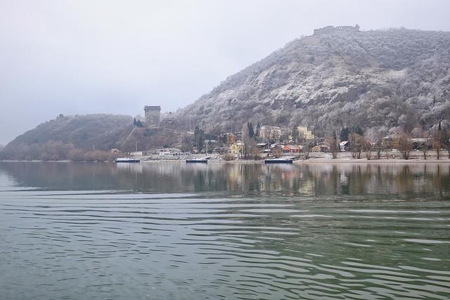 Castle in Winter in Hungary