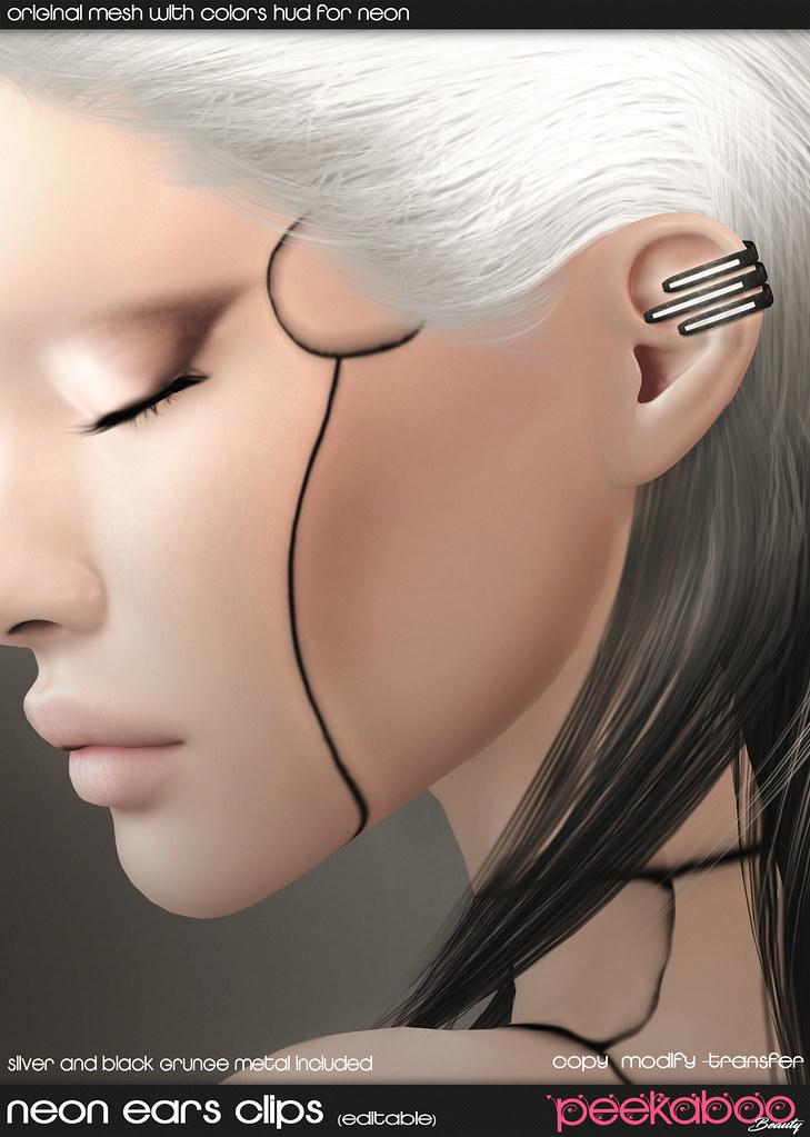 Neon Ears Clips AD