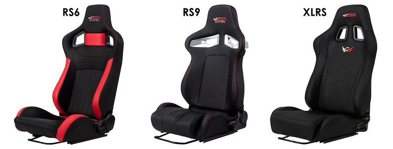 GT Omega PRIME Series Racing Seats
