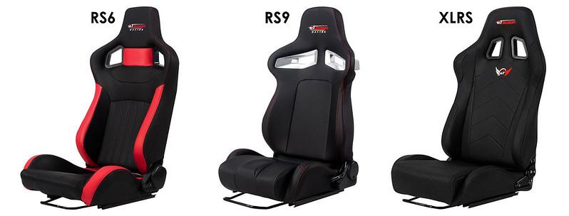 GT Omega PRIME Series Racing Seats