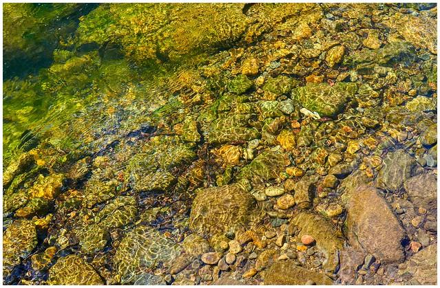 Finding the daybreak under green water