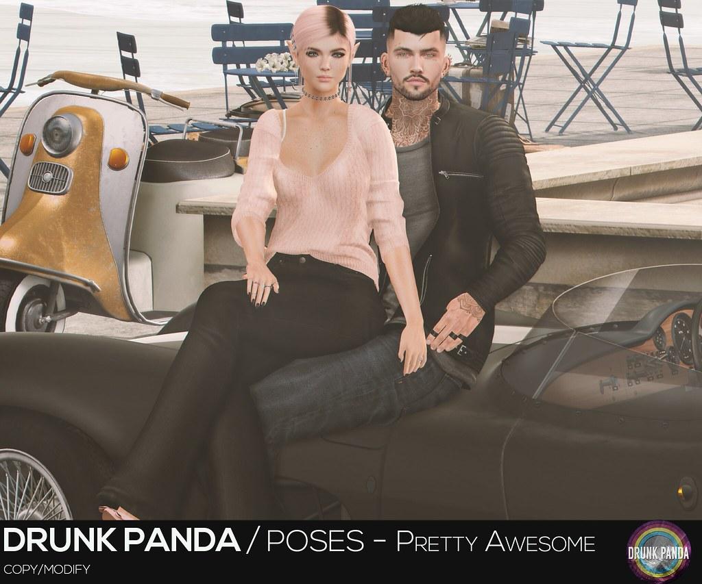Drunk Panda - PrettyAwesome