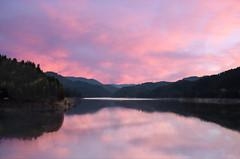 Hills Creek Lake at sunset, OR  (由  Bonnie Moreland (free images)