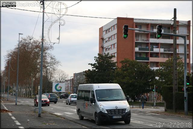 Renault Master – SPL D'un Point À l'Autre / liO (Lignes Intermodales d'Occitanie)