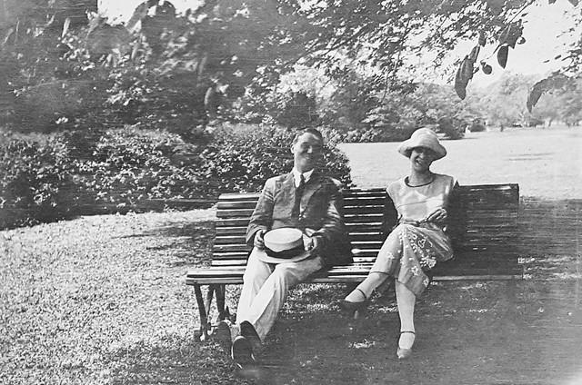 Zoia Harding Klimanek and Frans de Jongh, Shanghai, 1922