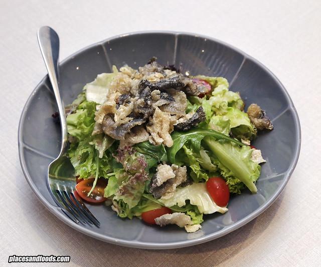 tonkatsu by wa kitchen pavilion salad salmon