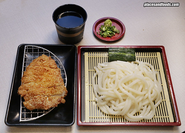 tonkatsu by wa kitchen pavilion cold udon