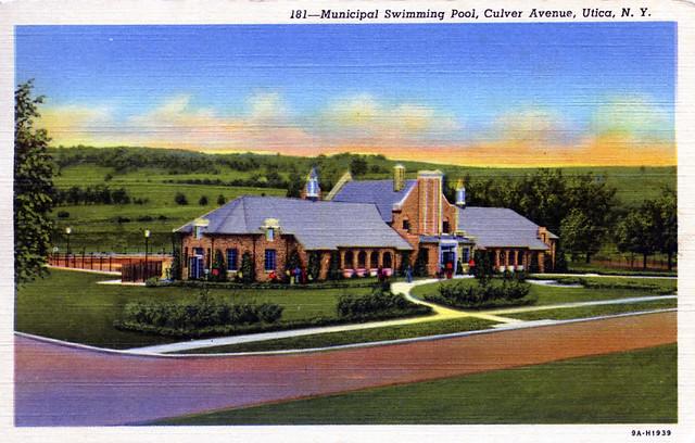 Municipal Swimming Pool Culver Avenue Utica NY