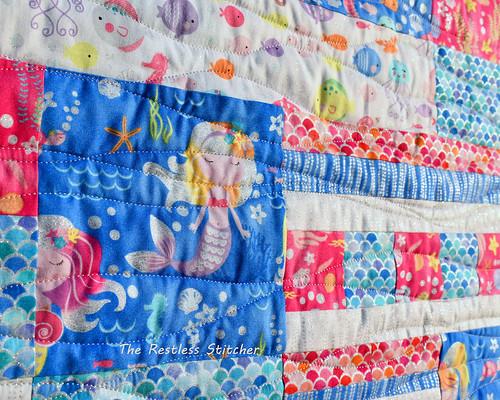 Mermaid Baby Quilt
